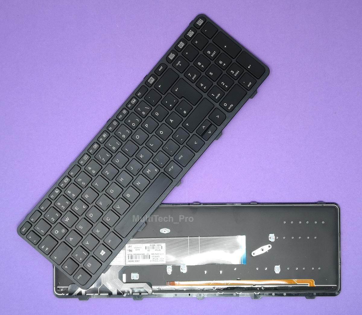 DE Tastatur HP Probook 450 G0 G1 G2 455 G1 G2 NEU Beleuchtung ...